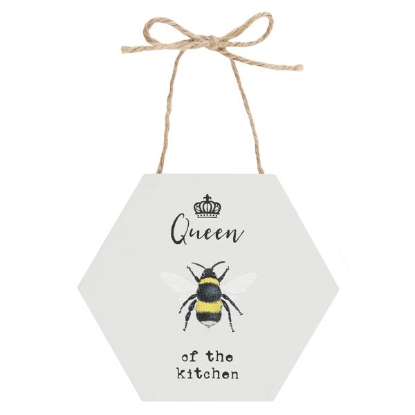 Queen of the Kitchen Hanging Sign
